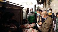 بازدید سرزده از روند توزیع گوشت مرغ در تهران