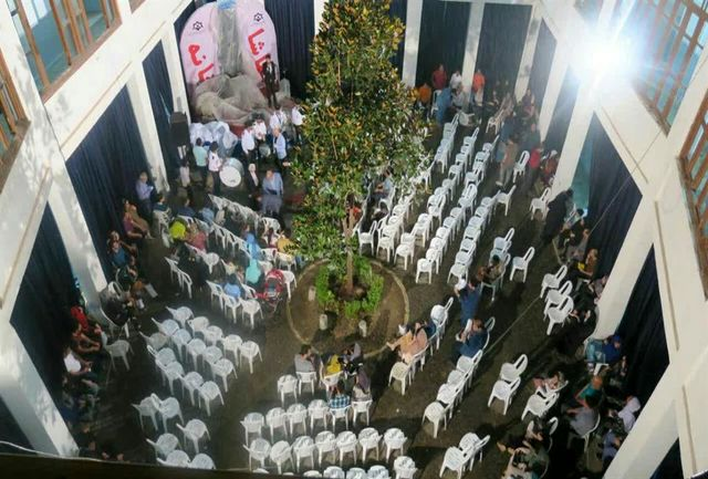 تماشاخانه روباز در محوطه سازمان فرهنگی، ورزشی , اجتماعی شهرداری رشت افتتاح شد