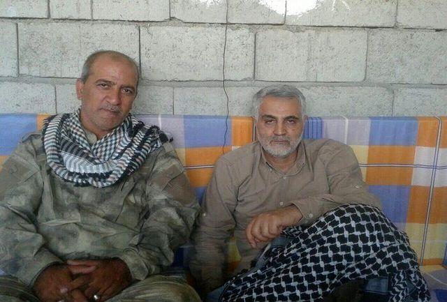تصاویری از حاج قاسم و ابومهدی در حافظه موبایل یک فرمانده/ببینید