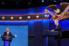 دعوای تلویزیونی ترامپ و بایدن
