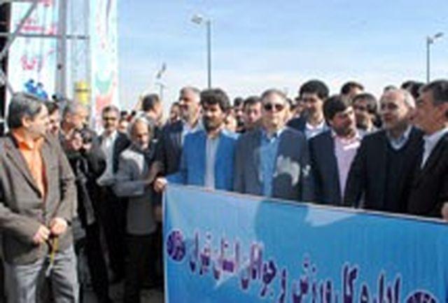 جامعه ورزش و جوانان شهریار،قدس وملارد با بنیان گذار کبیر جمهوری اسلامی ایران تجدید بیعت کردند