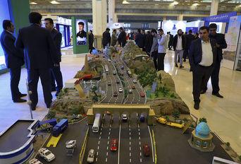 افتتاح نمایشگاه حمل و نقل و صنایع وابسته