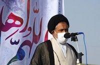 ملت بزرگ ایران اسلامی با مشارکت حداکثری در انتخابات مشت محکمی بر دهان دشمنان نظام خواهند زد