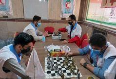 برگزاری رقابت های ورزشی توسط امدادگران هلال احمر اهواز+ببینید