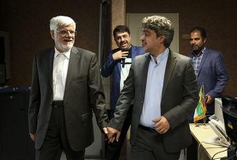 حضور « محمدرضا عارف »  در خبرگزاری برنا