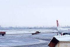 ادامه پروازهای فرودگاه ارومیه علی رغم بارش برف