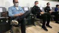 پای اسکوچیچ به ورزشگاه آزادی باز شد