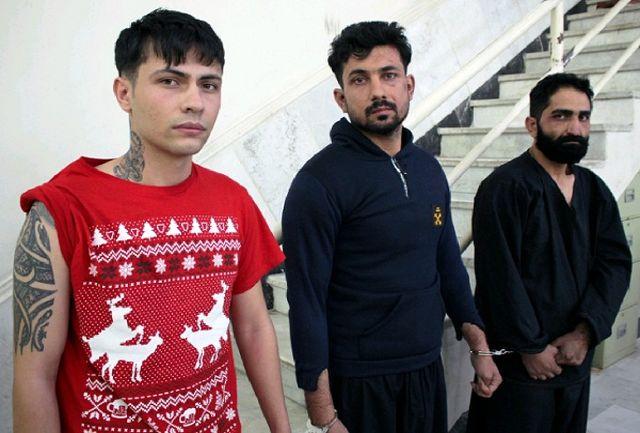 دستگیری باند 3نفره سارقان سابقهدار در کرج/ متهمان را شناسایی کنید