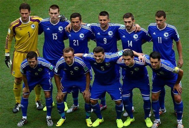 بازیکنان بوسنی مشخص شدند