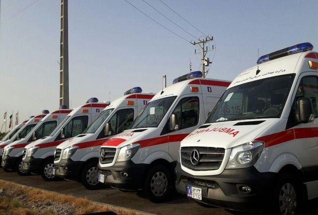 انجام بیش از 16000 ماموریت فوریتهای پزشکی آبادان در سال 96