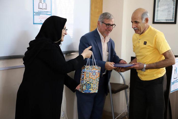 سالمندان هم به شبکه های دوستدار کتاب شیراز پیوستند