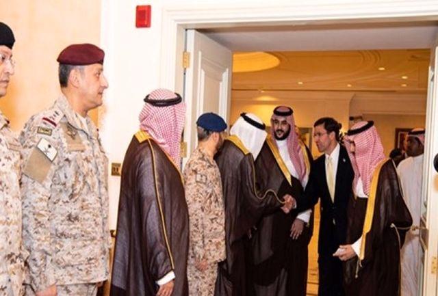 وزرای دفاع عربستان سعودی و آمریکا در ریاض دیدار کردند