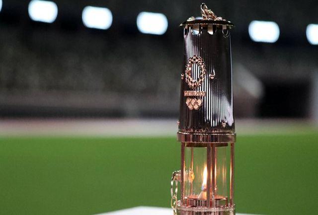 نمایش مشعل المپیک برای عموم به زمان دیگری موکول شد
