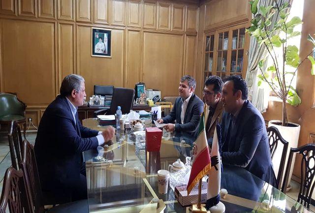 دیدار مشترک اعضای شورای شهر کهریزک با رییس شورای اسلامی شهر تهران ، ری و تجریش
