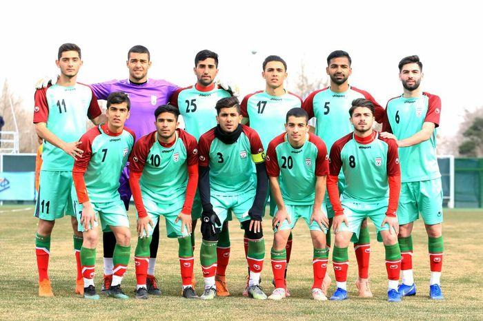 جوانان ایران در نخستین دیدار به مصاف میزبان میروند