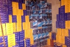 کشف یک انبار کاغذ عکاسی قاچاق در خرمشهر