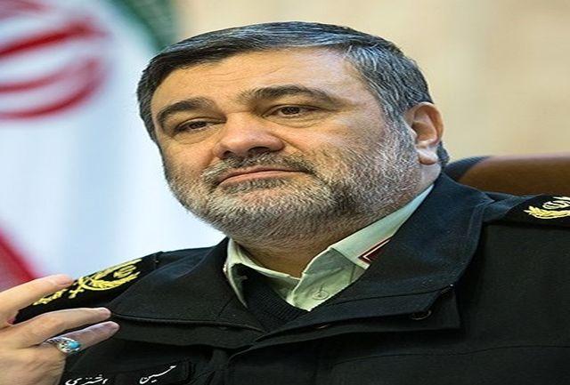 فرمانده نیروی انتظامی وارد ایلام شد