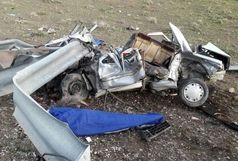 ۴ کشته در سانحه رانندگی آزادراه ساوه _ همدان