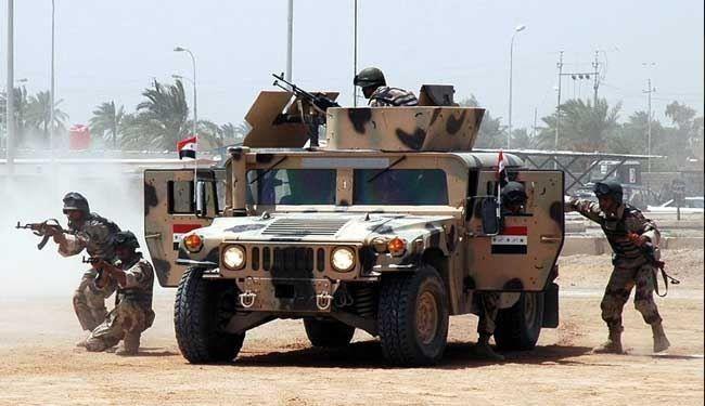 ارتش عراق پایگاه القائم را از نظامیان آمریکا تحویل گرفت