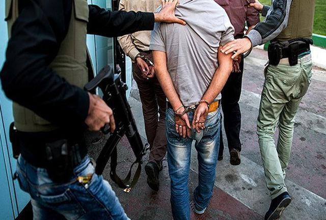 سارقان حرفه ای در چنگ پلیس