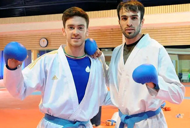 کاراته کاهای قزوینی در اردوی تیم ملی به روی تاتامی می روند