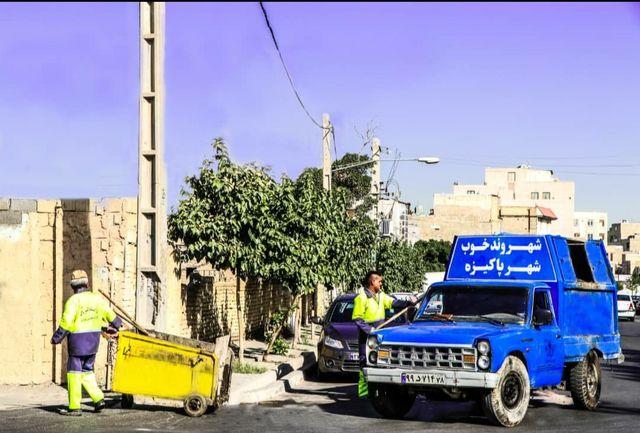 شهرداری قدس در تلاش برای تحقق شهری با نشان سبز پاکیزگی