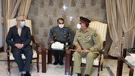 سردار باقری رئیس ستاد کل نیروهای مسلح وارد پاکستان شد