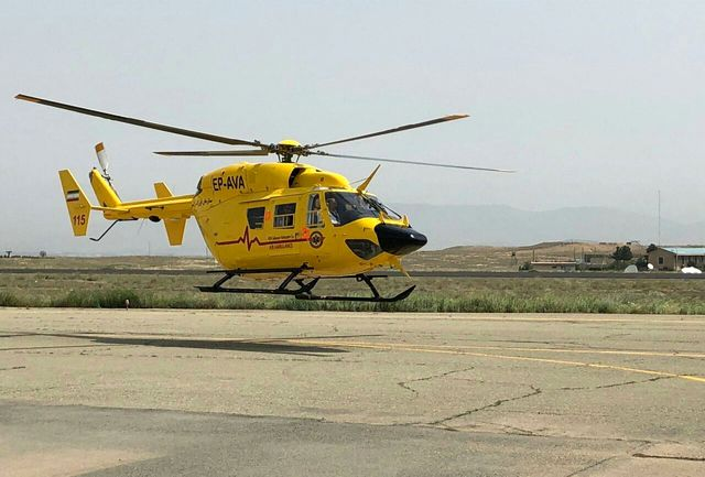 هشت بالگرد امدادی آماده خدمات رسانی به زائران