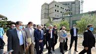 معاون رئیس جمهور از روند ساخت مرکز جامع سرطان در همدان بازدید کرد