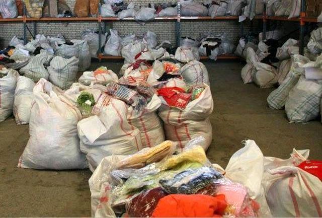 کشف یک میلیارد پوشاک قاچاق در کرمان