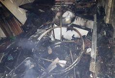 مهار آتشسوزی در خوابگاه دانشجویی