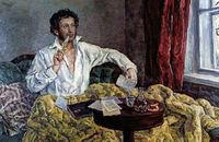 شعری که الکساندر پوشکین در قرنطینه روزگار وبا سرود