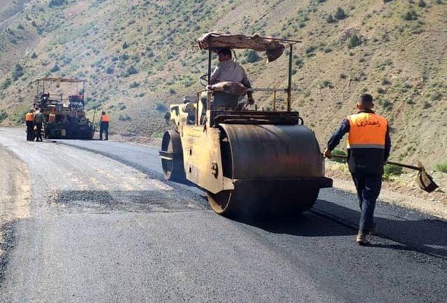بهسازی و روکش 37 کیلومتر از  راه های روستایی البرز