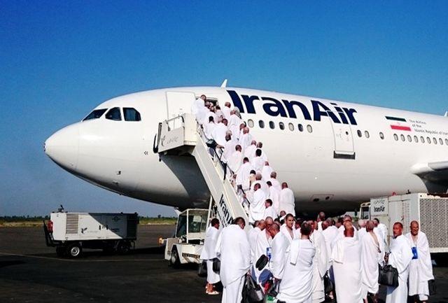 ۲ هزار و ۹۰۰ زائر ایرانی با ۱۶ پرواز به کشور منتقل میشوند