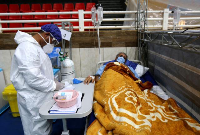 تمامی تخت های  بستری در  کمیجان برای درمان مبتلایان به کرونا تکمیل شده است