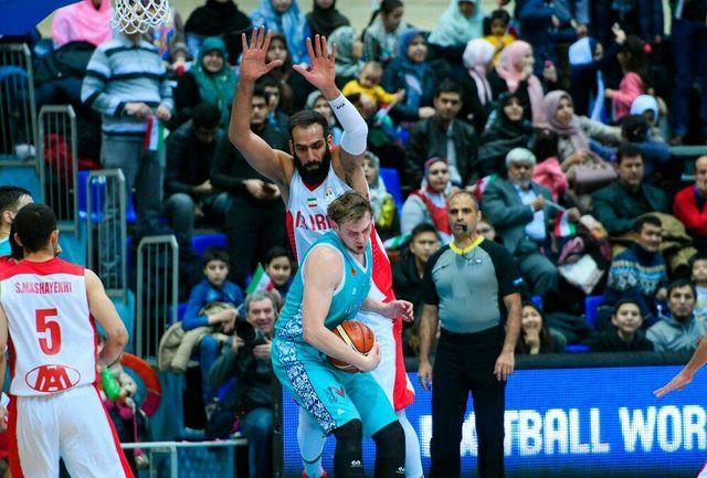 مصاف تیم ملی بسکتبال با عربستان و سوریه