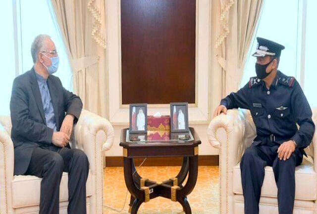 سفیر ایران با رئیس پلیس قطر دیدار کرد