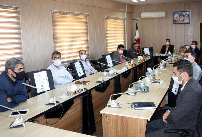 اولین جلسه کارگروه ساماندهی نیروی انسانی پروژه مهر برگزار شد