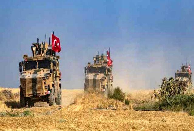 یورش زمینی ارتش ترکیه به تل ابیض ناکام ماند/ سرنگونی پهپاد ترکیه