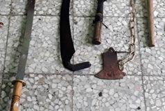 دستگیری اراذل و اوباش در شفت