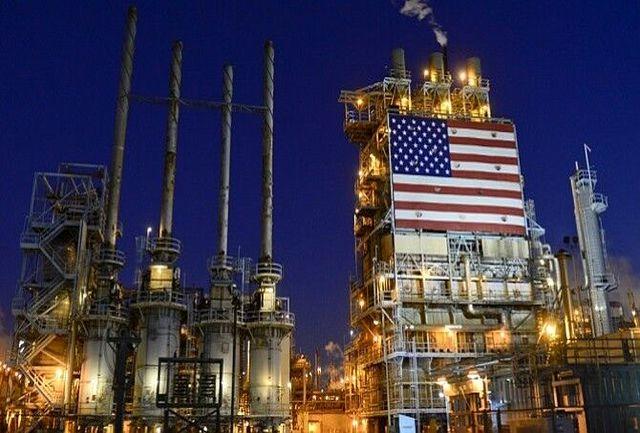 تولید نفت آمریکا در ماه فوریه کاهش یافت