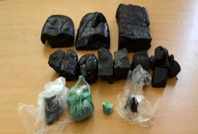 کشف بیش از 3 کیلو انواع مواد مخدر در لاهیجان