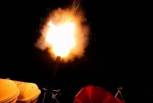 اجرای عملیات تیراندازی شبانه به اهداف هوایی