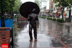 رگبار باران در ۱۳ استان کشور