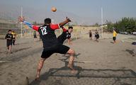اردوی تیم ملی هندبال ساحلی