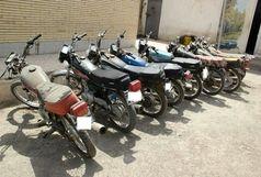 دستگیری سارق موتورسیکلت در آبدانان