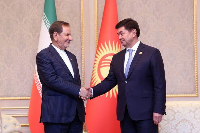 حجم روابط ایران-قرقیزستان 20 میلیون دلار است/ پرواز مستقیم میان دو کشور باید برقرار شود/ نخست وزیر قرقیزستان: از عضویت دائم ایران در پیمان شانگهای حمایت میکنیم