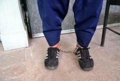 دستگیری سارق سابقه دار مغازه های رومشکان