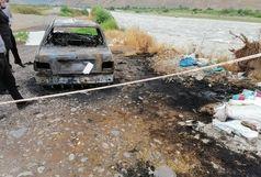 کشف جسد سوخته پدر و پسر تهرانی در خودرو