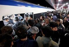 عذرخواهی شرکت بهرهبرداری متروی تهران به دلیل نقص فنی قطار در خط ۲